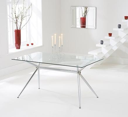 Salento glass dining table image 2