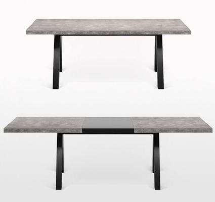 Apex extending dining table image 4