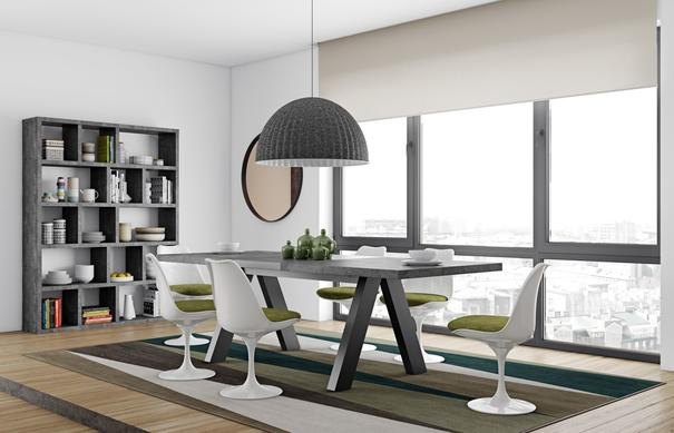 Apex extending dining table image 5