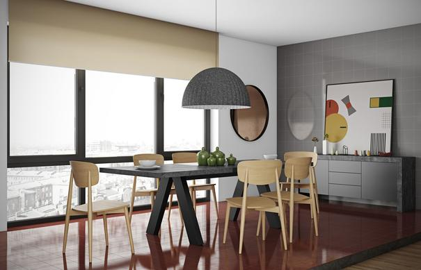 Apex extending dining table image 6