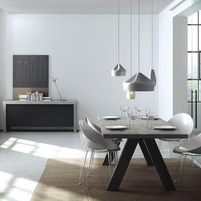 Apex extending dining table image 8