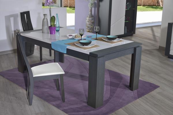 Quartz extending dining table image 5