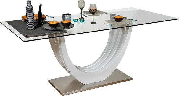 Ovio glass top dining table