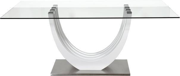 Ovio glass top dining table image 2