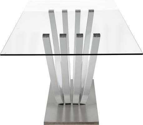 Ovio glass top dining table image 3