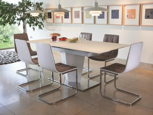 Essence extending dining table