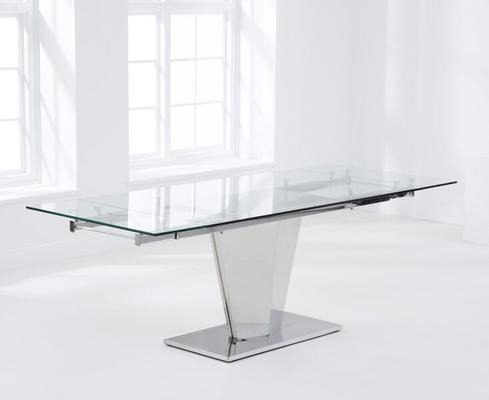 Lucille extending dining table image 3