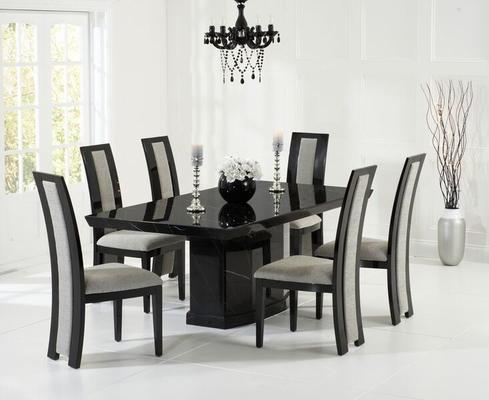 Como Marble dining table image 6