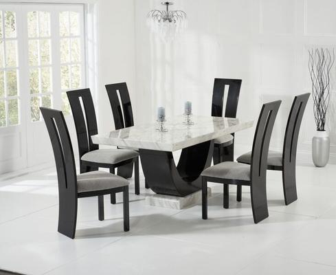 Rivilino Marble dining table image 11