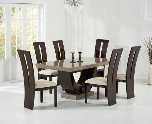 Rivilino Marble dining table image 12