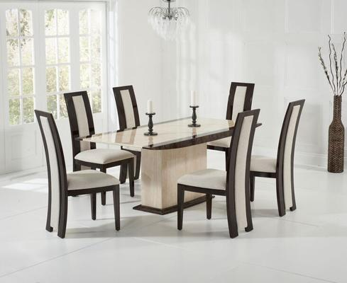 Alba Marble dining table image 4
