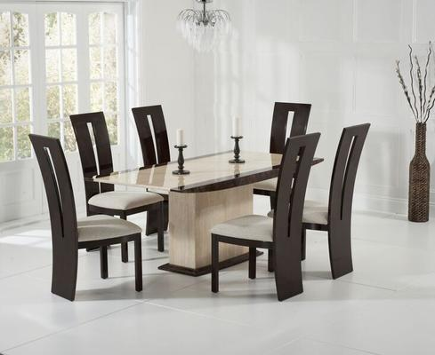 Alba Marble dining table image 5