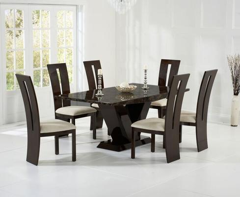 Valencie Marble dining table image 7