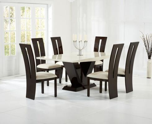 Valencie Marble dining table image 8