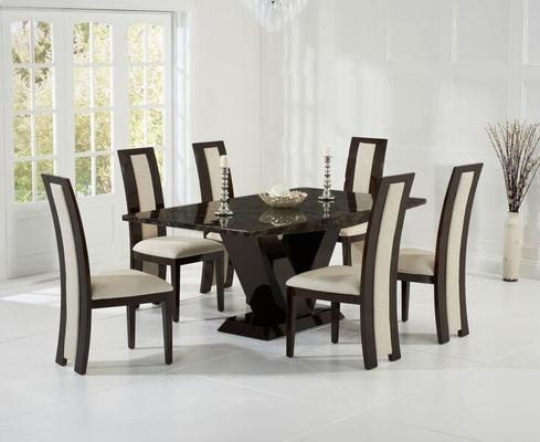 Valencie Marble dining table image 9