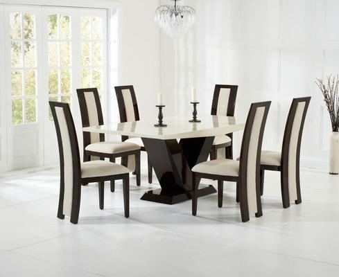 Valencie Marble dining table image 10