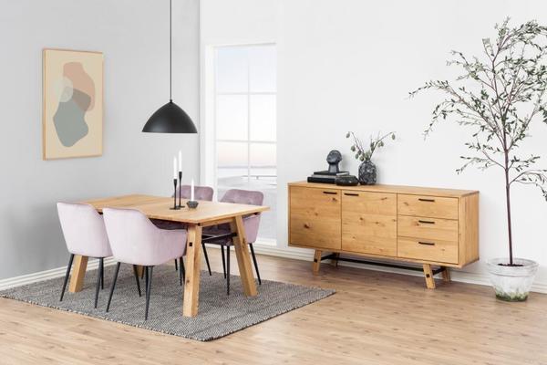 Stockhelm (Wild Oak) dining table image 4