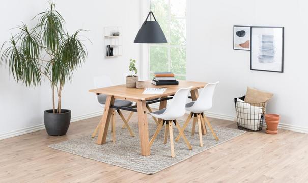 Stockhelm (Wild Oak) dining table image 7
