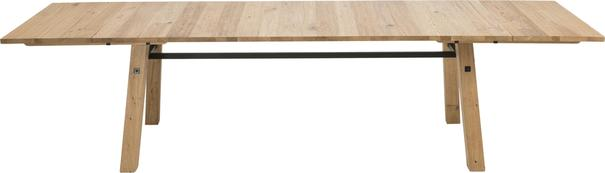 Stockhelm (Wild Oak) extending dining table image 3