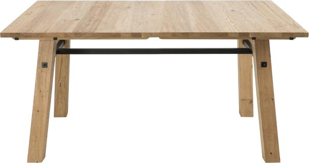 Stockhelm (Wild Oak) extending dining table image 4