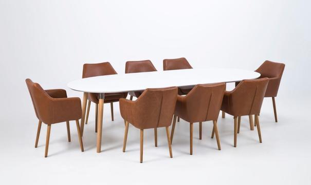Balina extending dining table image 5