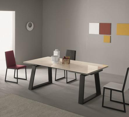 Mango extending dining table
