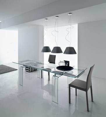 Light extending dining table image 2
