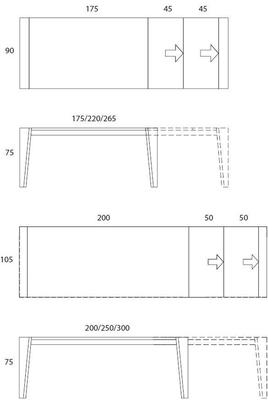 Plus extending dining table image 7