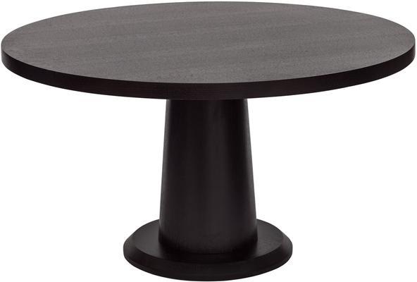 Ancora Dark Wenge Oak Round Dining Table 120cm