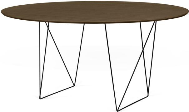 Row (Walnut) dining table image 4