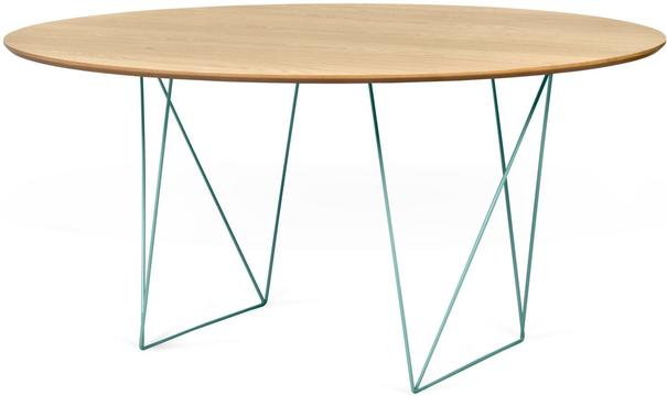Row (Oak) dining table image 6