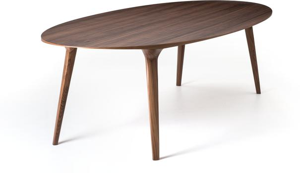 Ademar (Oval) dining table image 4
