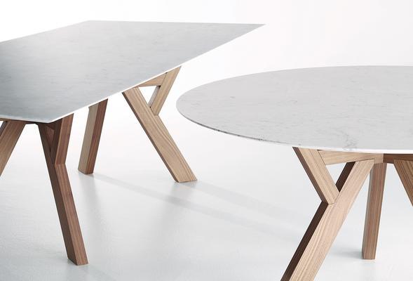 Trigono (Round) dining table image 3