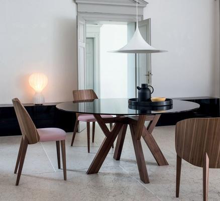 Trigono (Round) dining table image 4