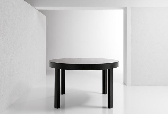 Thor (Round) extending dining table image 2