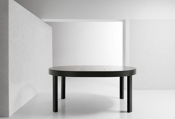 Thor (Round) extending dining table image 3