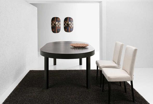 Thor (Round) extending dining table image 5