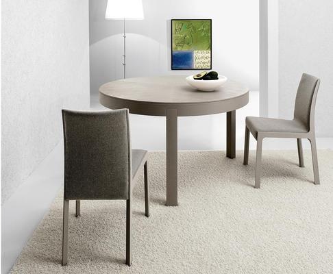 Thor (Round) extending dining table image 6