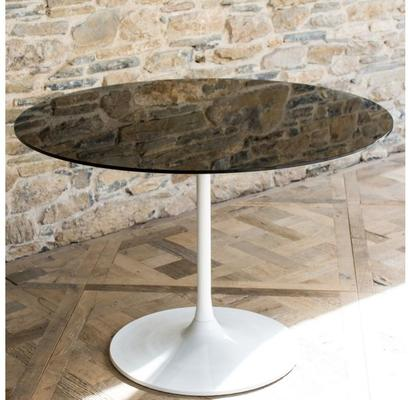 Swan Retro Large Circular Dining Table image 45