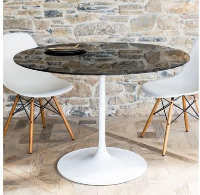 Swan Retro Large Circular Dining Table image 48