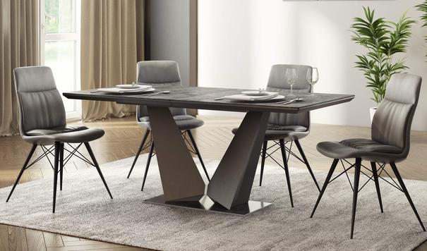 Prague extending dining table image 3