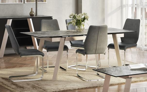 Agata extending dining table image 6