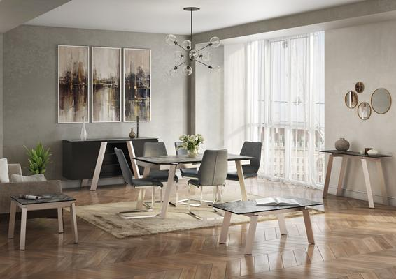 Agata extending dining table image 7
