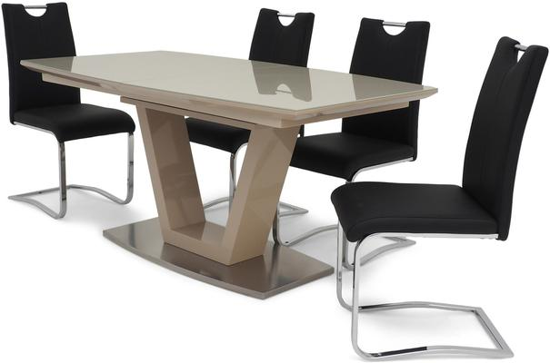 Valente extending dining table image 9
