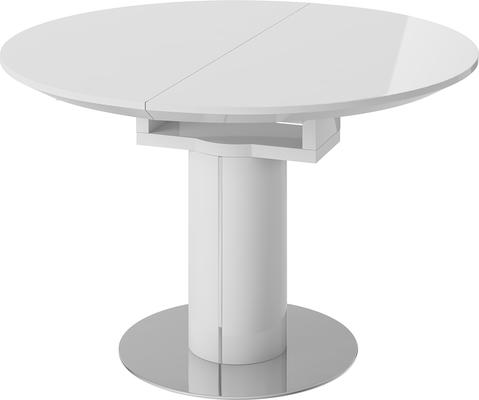 Jessy round extending dining table