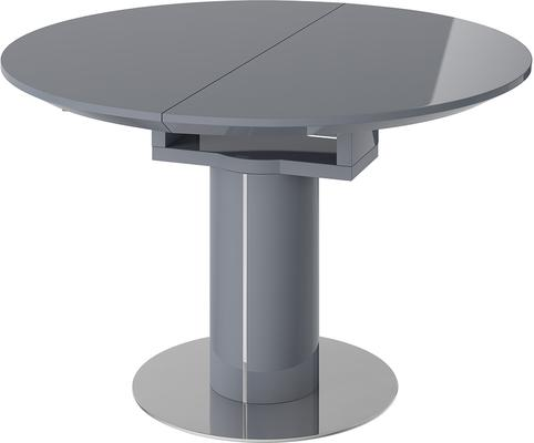 Jessy round extending dining table image 2