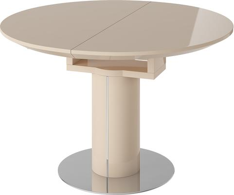 Jessy round extending dining table image 3