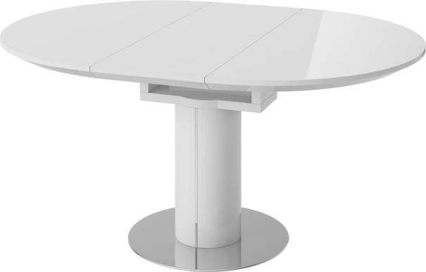 Jessy round extending dining table image 4