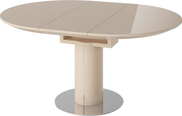 Jessy round extending dining table image 6