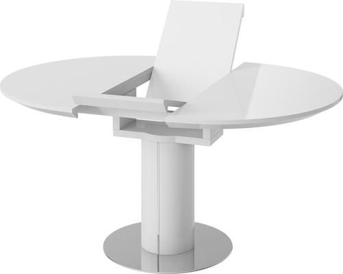 Jessy round extending dining table image 8